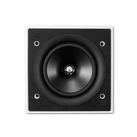 KEF CI160QS Square In-Wall / In-Ceiling Architectural Loudspeaker (Single)
