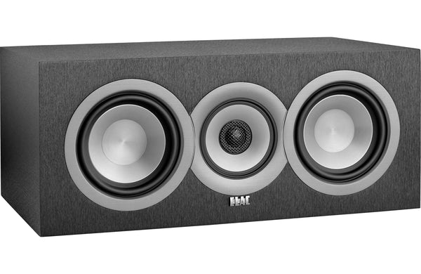 ELAC Uni-Fi UC5 Three-Way Center Channel Speaker UC51-BK (Black, Each)
