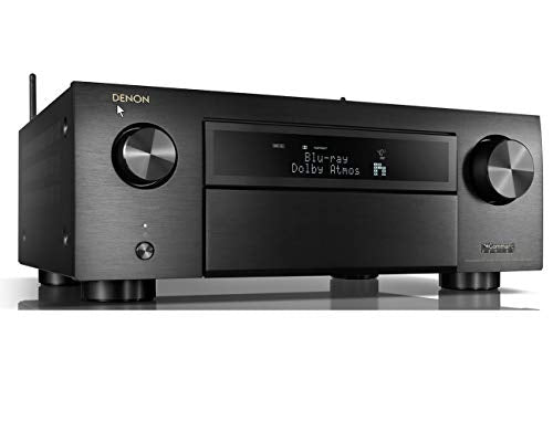 Denon AVR-X6700H 11.2 CH 8K AV Receiver with 3D Audio, HEOS® Built-in and Voice Control 2020