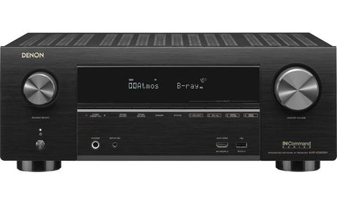 Denon AVR-X3600H UHD AV Receiver | 2019 Model | 9.2 Channel, 105W Each | Airplay 2 Alexa & HEOS