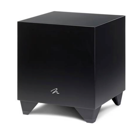 MartinLogan Dynamo 800 X 10-inch 300 Watt Powered Subwoofer with Sub Control App - Black