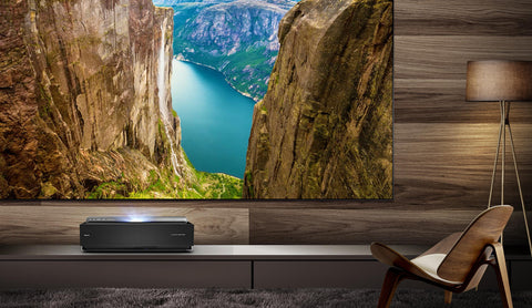 "Hisense 100"" L10 Series 4K Ultra HD Smart Dual Color Laser TV with HDR"