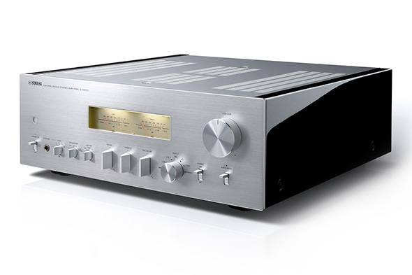 Yamaha A-S2100SL Natural Sound Integrated Amplifier Silver