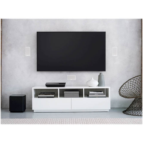 Bose Lifestyle 600 In-Wall Home Entertainment System (White)