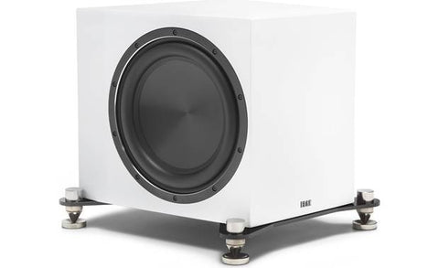 ELAC SUB3070 Powered subwoofer with Bluetooth® app control SUB3070-GW (White, Each)