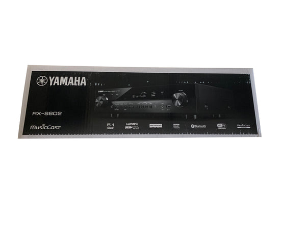 Yamaha Audio RX-S602 Slim Audio & Video 5.1 Channel Component Receiver Slimline