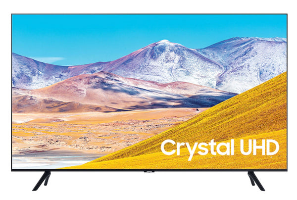 "Samsung UN43TU8000 43"" Flat Black Crystal 4K UHD HDR SMART TV ULTRA SLIM (2020)"