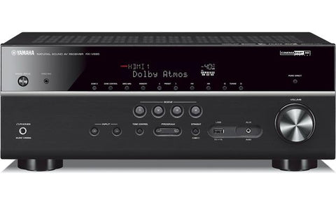 Yamaha RX-V685 7.2-channel home theater receiver with Wi-Fi®, Bluetooth®, MusicCast, and Dolby Atmos®