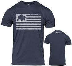 """Bison Flag"" T-shirt"