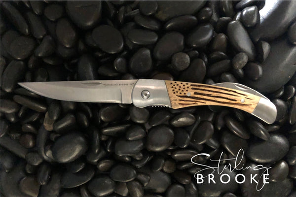 Classic Large Pocket Knife | American