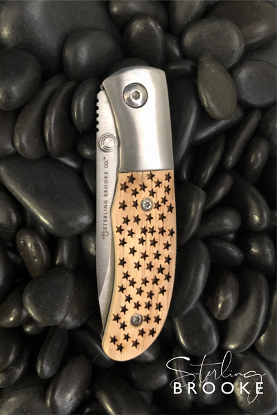 Classic Small Pocket Knife | American Stars