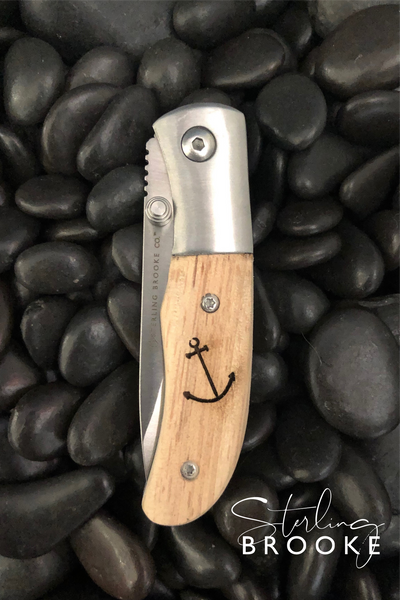 Classic Small Pocket Knife | Anchor