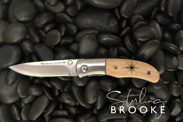 Classic Small Pocket Knife | Compass