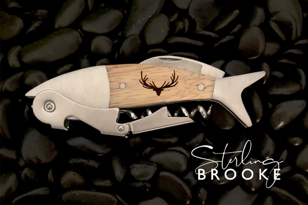 Coastal Double Pull Wine Opener | Deer