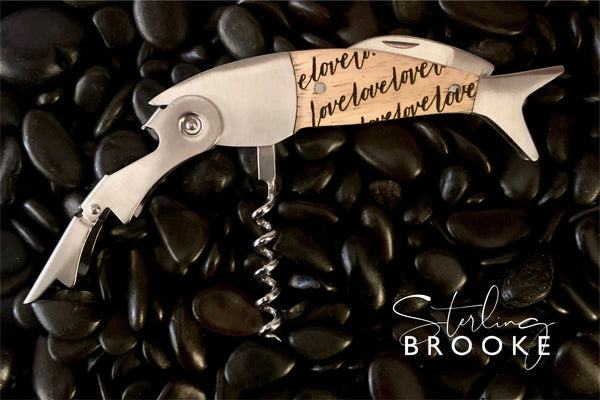 Coastal Double Pull Wine Opener | Love Love Love