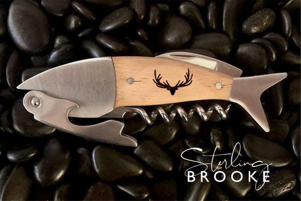 Coastal Single Pull Wine Opener | Deer
