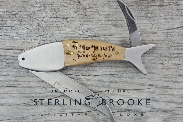 "Pocket Knife- ""Fish in the Sea"""