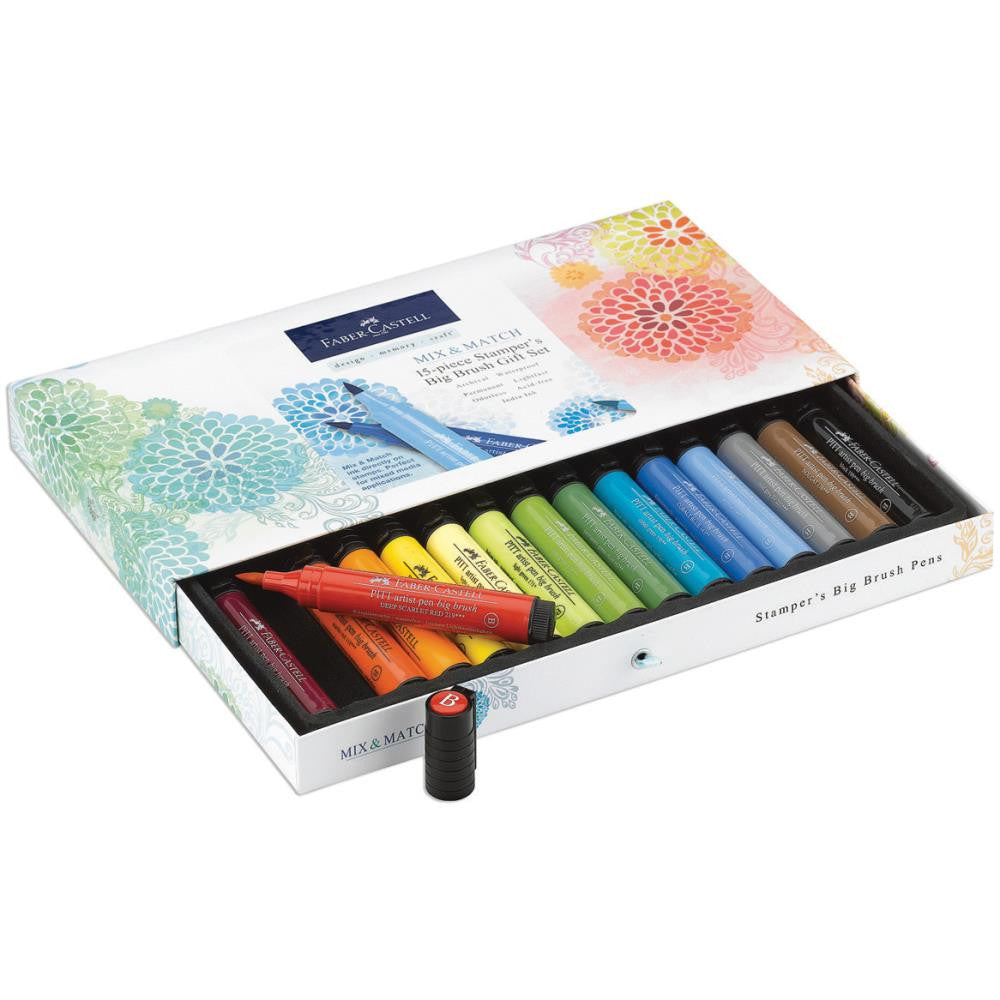 Faber Castell-Mix & Match Stamper's Big Brush Pen Gift Set