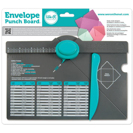 We R Memory Keepers -Envelope Punch Board