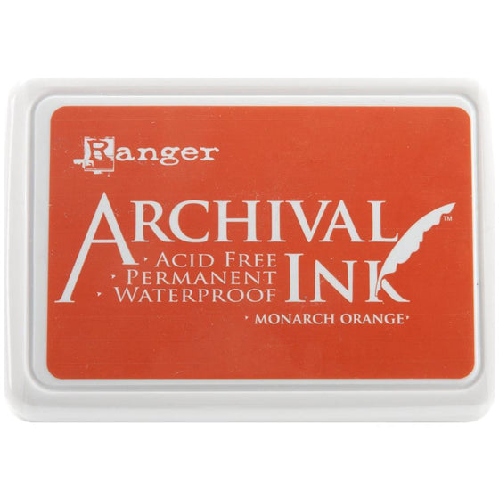 Archival Ink Pad Monarch Orange