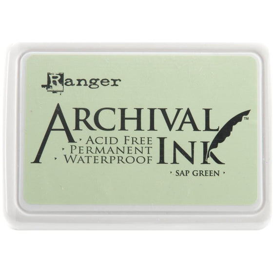 Archival Ink Pad Sap Green