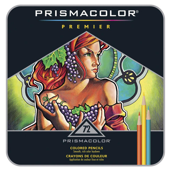 Prismacolor Premier Colored Pencils 72/Pk