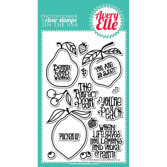 Avery Elle Clear Stamps - Berry Good