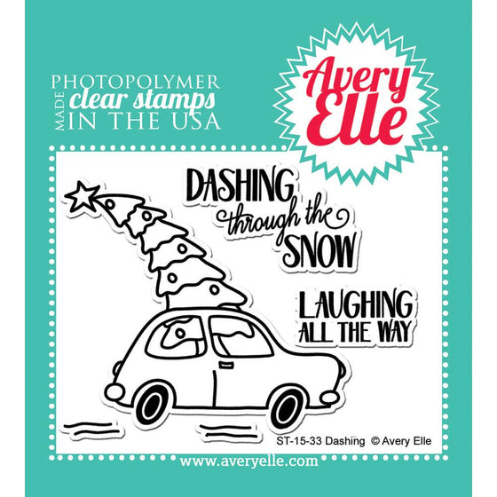 Avery Elle Clear Stamps - Dashing