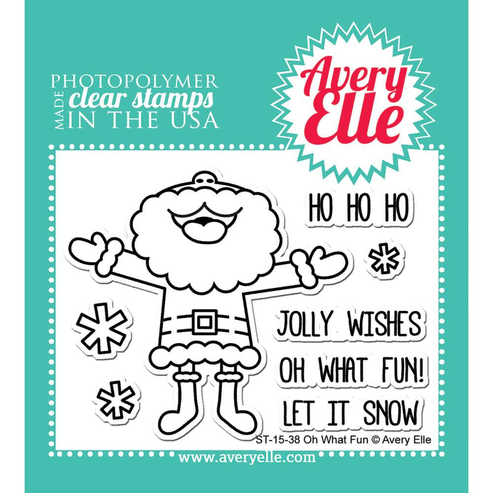 Avery Elle Clear Stamps - Oh What Fun