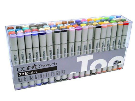 Copic Sketch Markers Set D 72 pcs Set