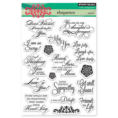 Penny Black Clear Stamps - Eloquence
