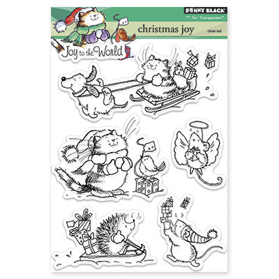 Penny Black Clear Stamps - Christmas Joy