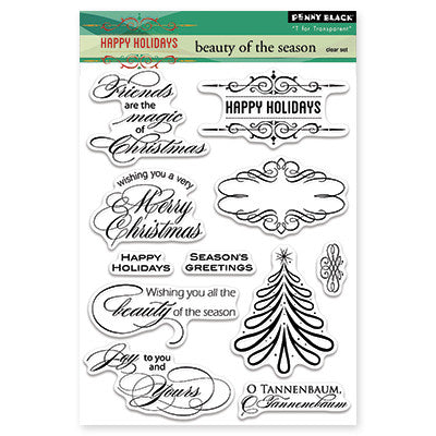 Penny Black Clear Stamps - Beauty of the Season
