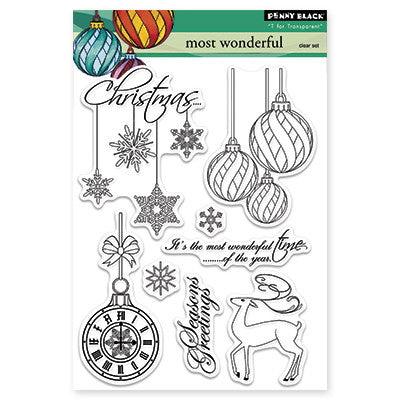 Penny Black Clear Stamps - Most Wonderful