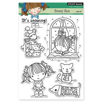Penny Black Clear Stamps - Frosty Fun