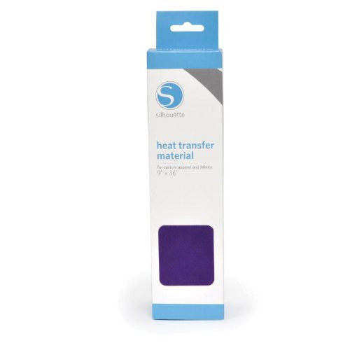 "Silhouette Smooth Heat Transfer Material 9""X36"" Purple"