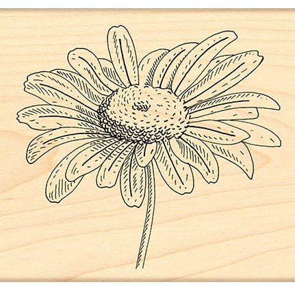 Penny Black Mounted Rubber Stamp - Graceful