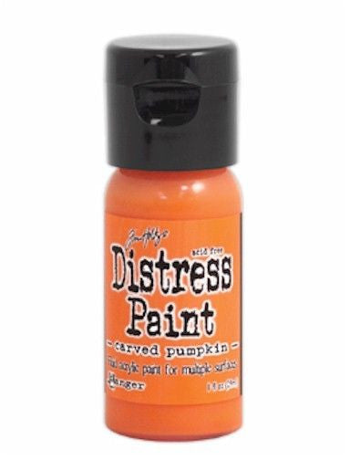 Distress Paint Flip Top 1oz Carved Pumpkin