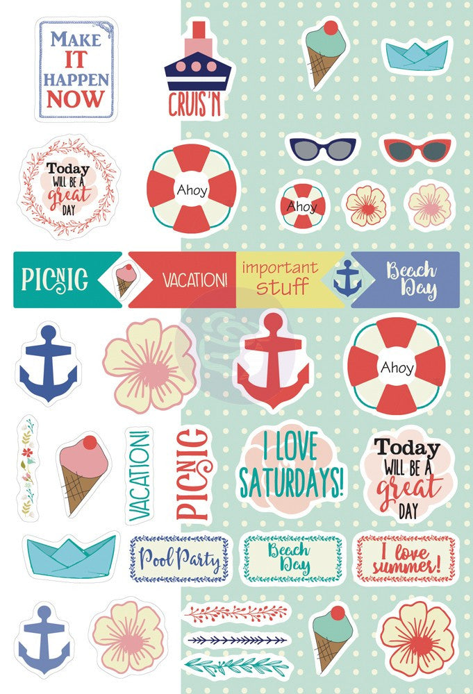 Julie Nutting Planner Stickers-August