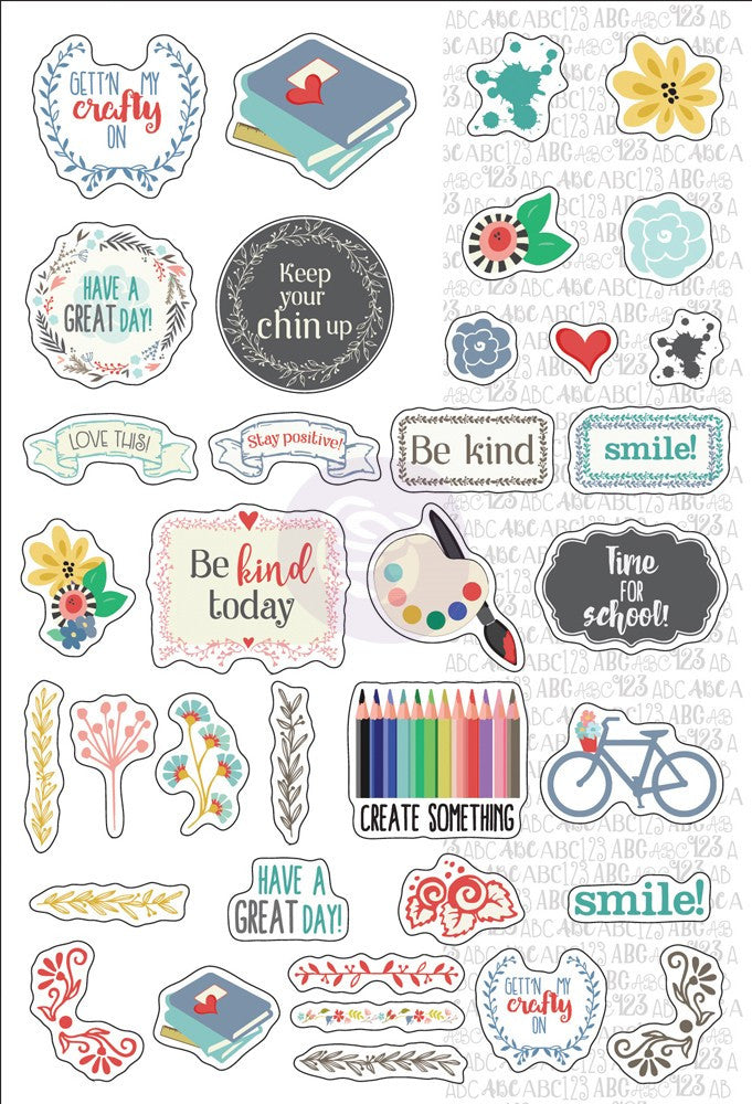 Julie Nutting Planner Stickers-September