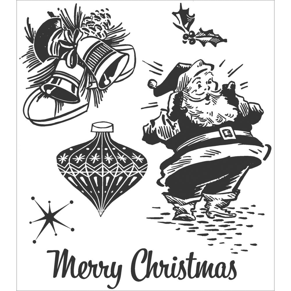 Stampers Anonymous - Tim Holtz Cling Rubber Stamps: Christmas Memories