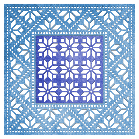 Cheery Lynn Designs - Mexican Tile Pattern Die - FRM149