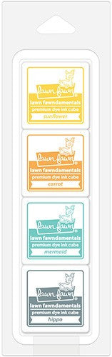 Lawn Fawn -  Tropical Island Ink Cube Pack