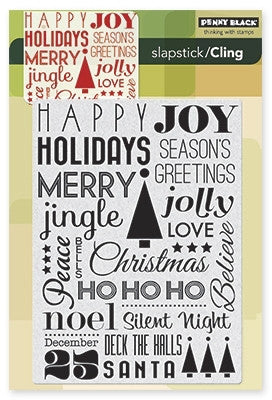 Penny Black Cling Stamps - Jolly Chant
