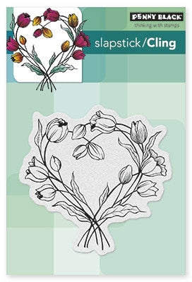 Penny Black Cling Stamps - Entwined