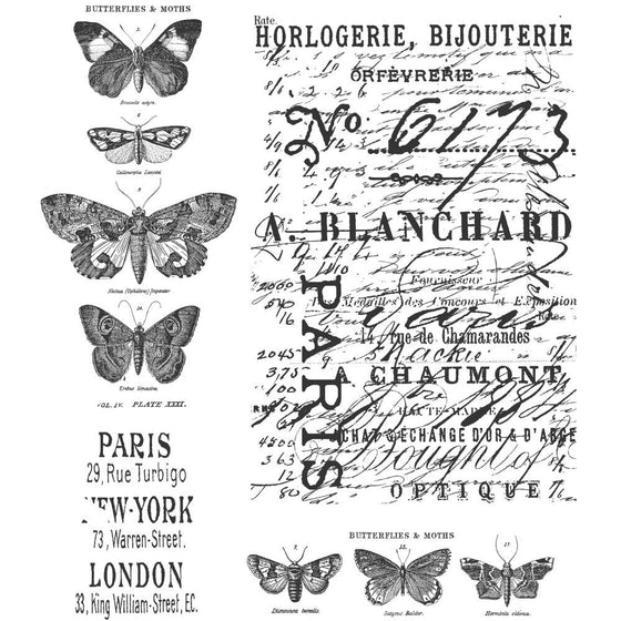 Stampers Anonymous - Tim Holtz Cling Rubber Stamps: Papillon
