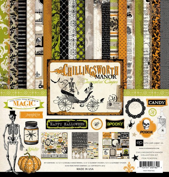 "Chillingsworth Manor Collection Kit 12""X12"""