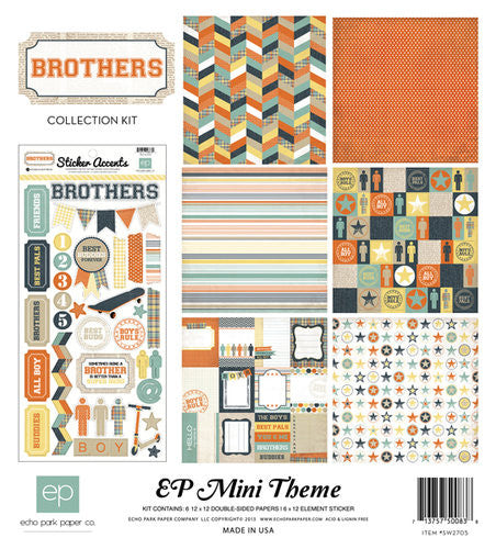 "Brothers Collection Kit 12""X12"""