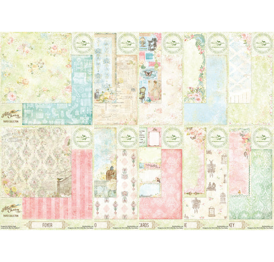 Blue Fern Studios Attic Charm Paper Collection Kit