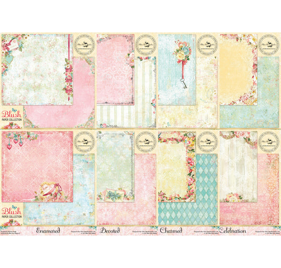 Blue Fern Studios Blush Paper Collection Kit